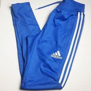 Adidas track pants size XS royal blue